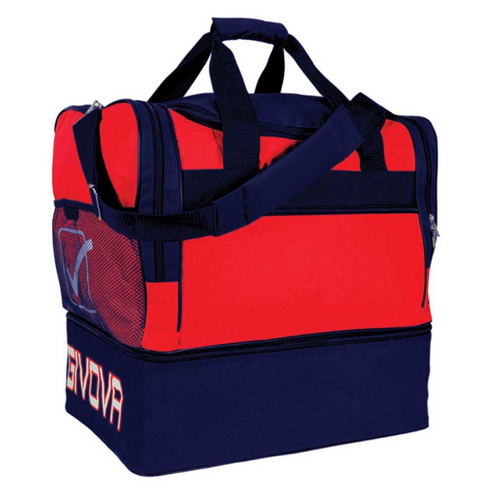 Givova Sac 10 Football Duffle 63l One Size Red / Blue