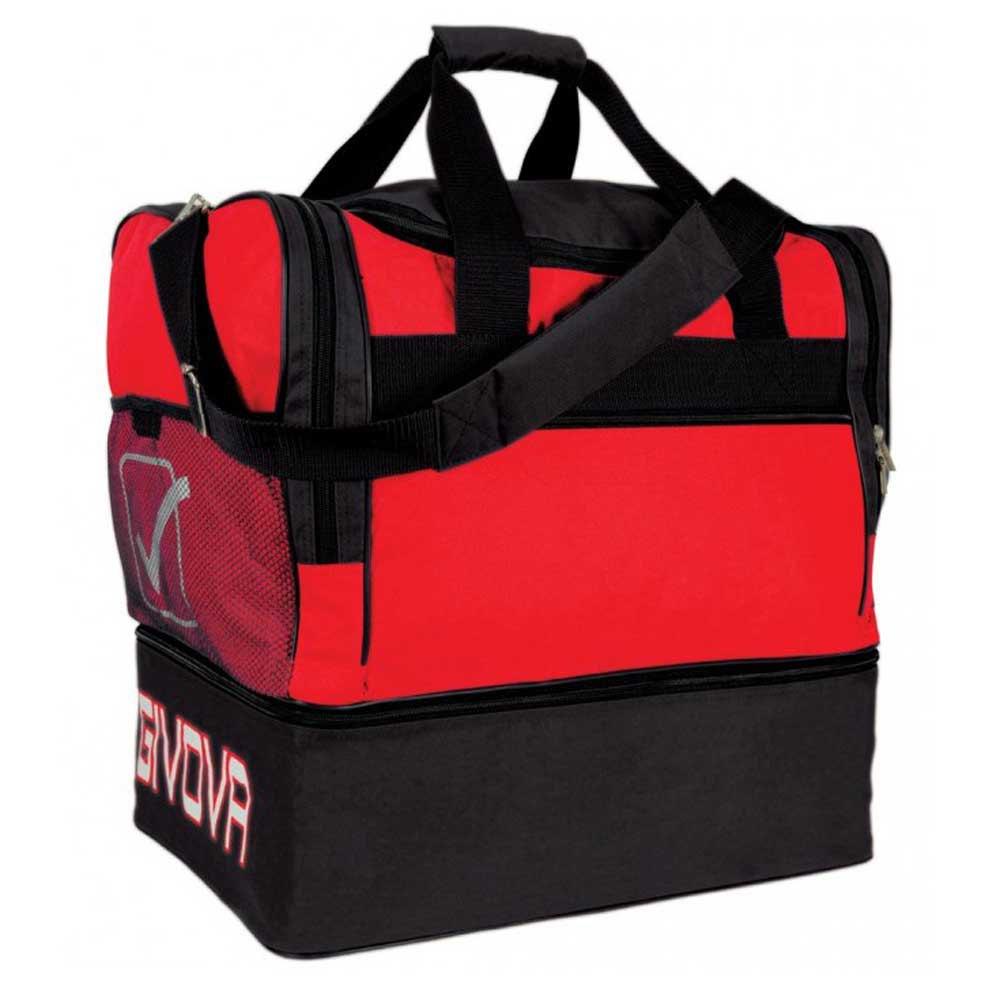 Givova Sac 10 Football Duffle 63l One Size Red / Black