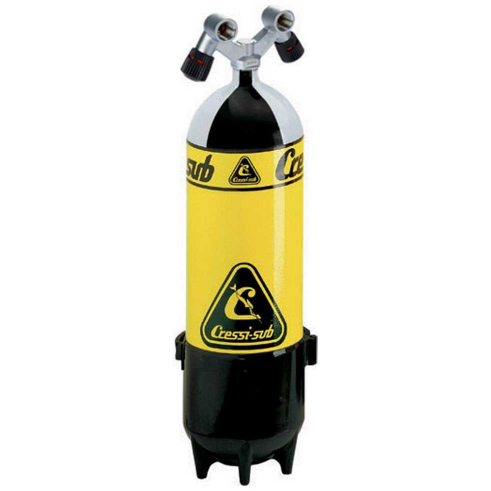 Cressi Mono Tauchflaschen Doppelventil 15l 232 Bar Sauerstoffflaschen Mono Tauchflaschen Doppelventil 15l 232 Bar