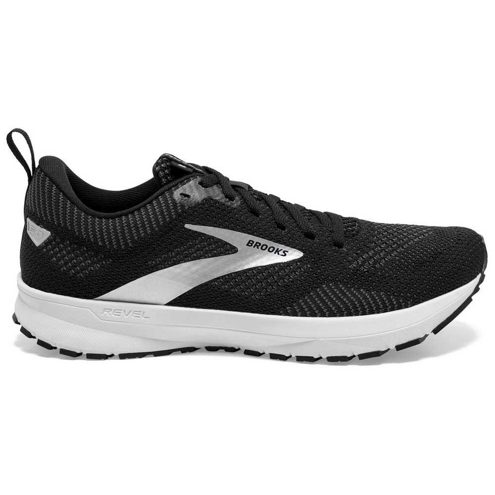 Brooks Zapatillas Running Revel 5 Black / Grey / White