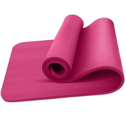Oemla Esterilla Yoga Antideslizante Entrenamiento 60x190 Cm Rosa One Size