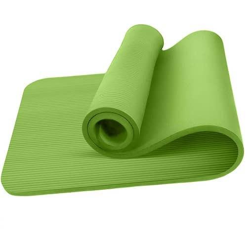 Oemla Esterilla Yoga Antideslizante Entrenamiento 60x190 Cm Verde One Size