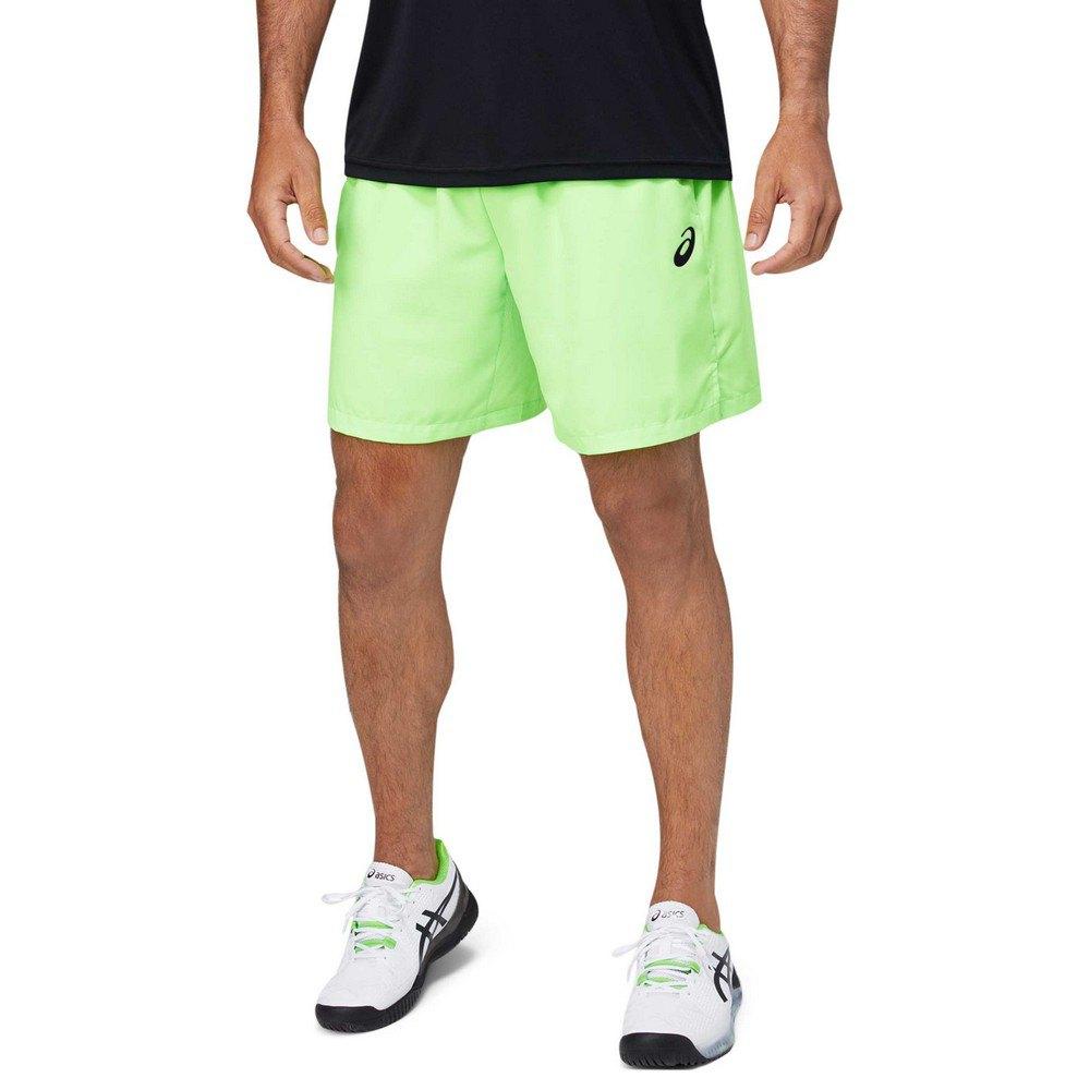 Asics Les Shorts Court 7´´ S Green Gecko