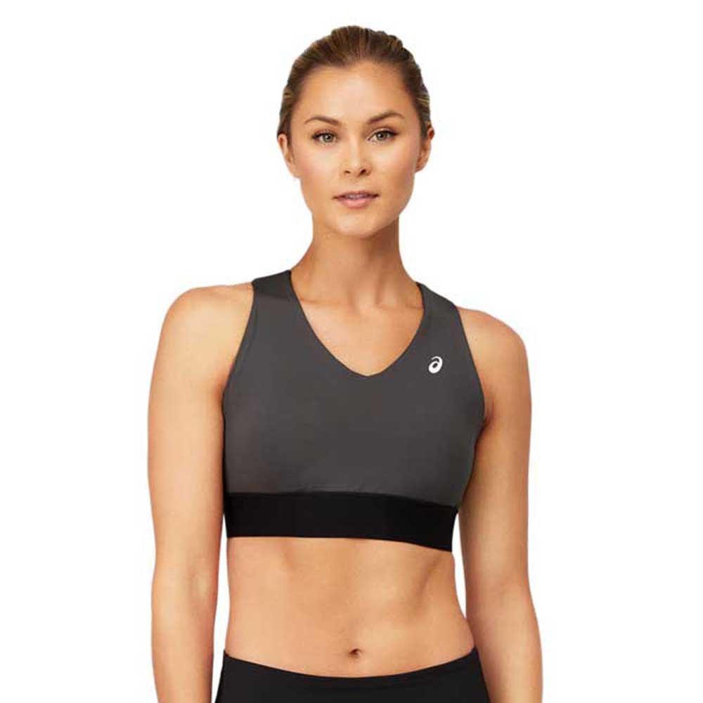 Asics Brassière Sport Color Block Iii XS Graphite Grey / Performance Black