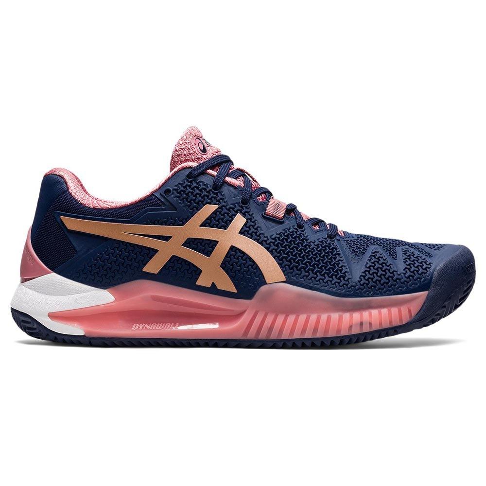 Asics Chaussures Gel-resolution 8 EU 36 Peacoat / Rose Gold