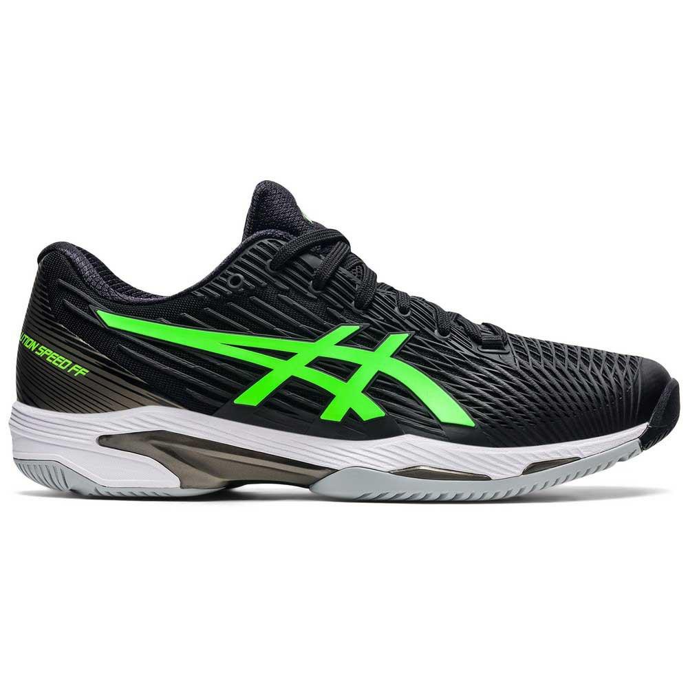 Asics Chaussures Solution Speed Ff 2 EU 45 Black / Green Gecko