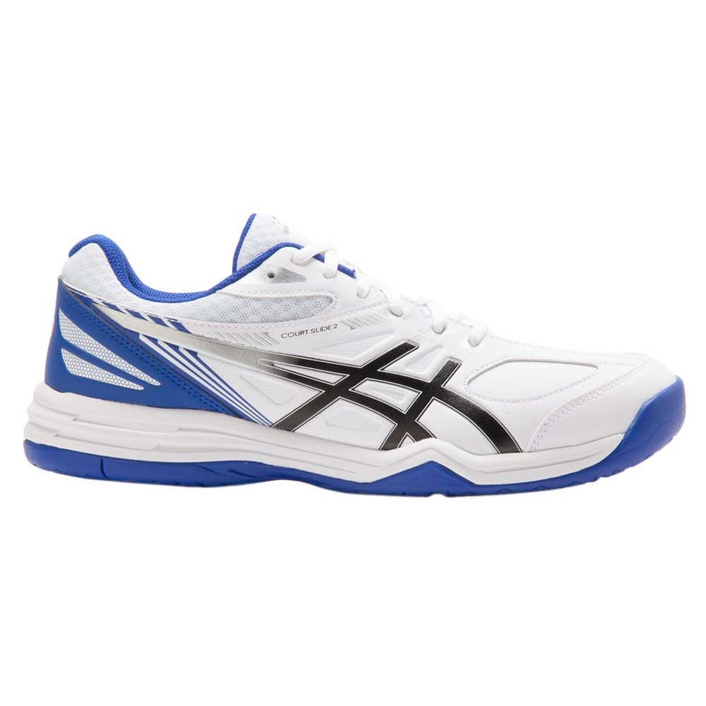 Asics Chaussures Court Slide 2 EU 49 White / Asics Blue