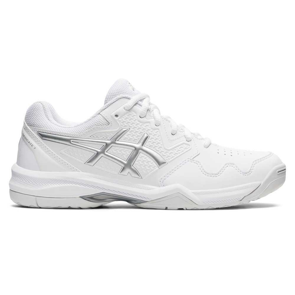 Asics Chaussures Gel-dedicate 7 EU 36 White / Pure Silver