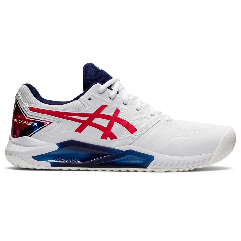 Asics Chaussures Gel-challenger 13 L.e EU 40 White / Classic Red
