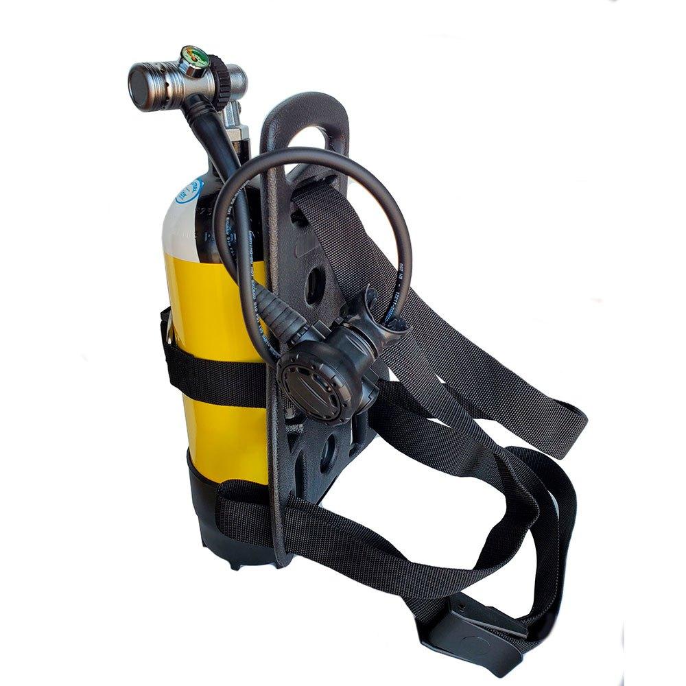 Metalsub Tauchausrüstung Mit 5l Tank Yellow Black Sauerstoffflaschen Tauchausrüstung Mit 5l Tank