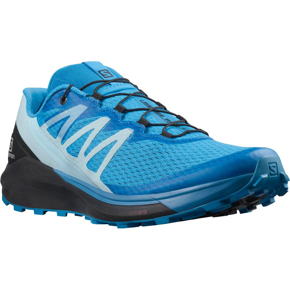 Salomon Zapatillas Trail Running Sense Ride 4 Blue Aster / Black / Crystal Blue