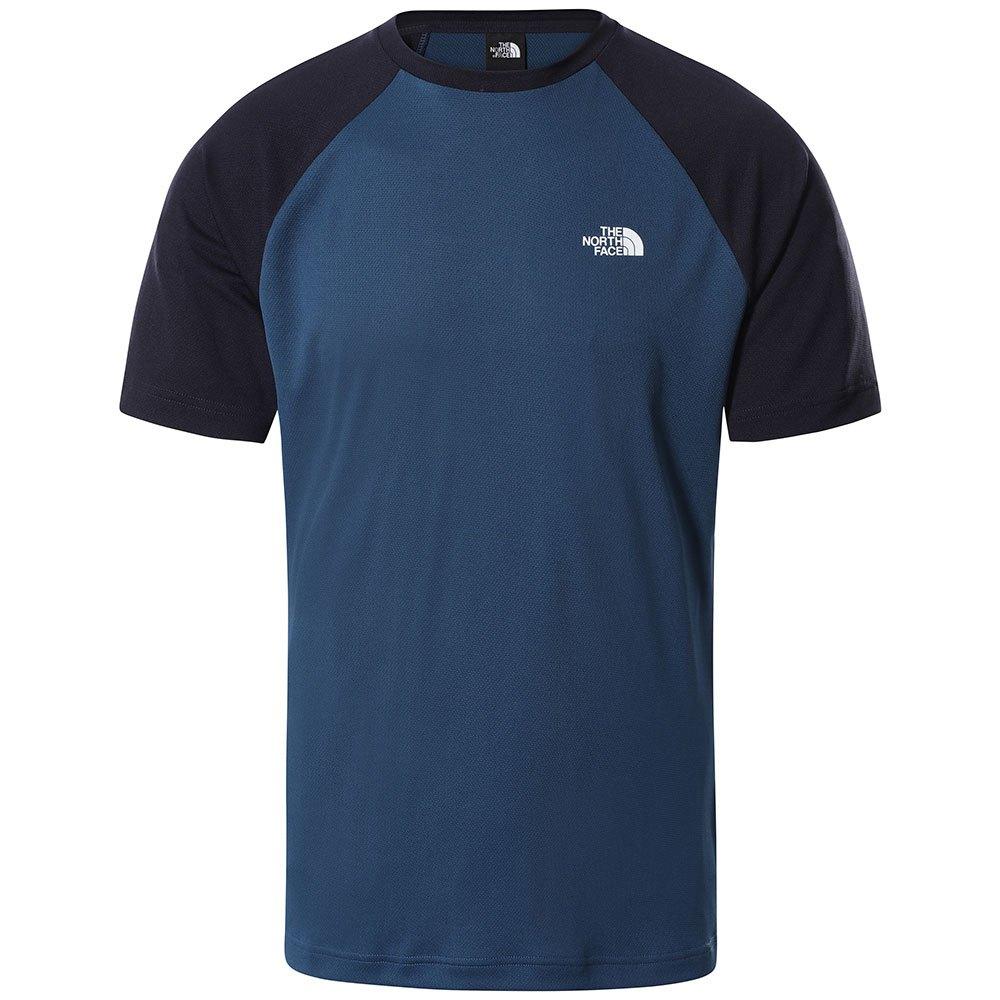 The North Face T-shirt Manche Courte Tanken Raglan M Monterey Blue / Aviator Navy