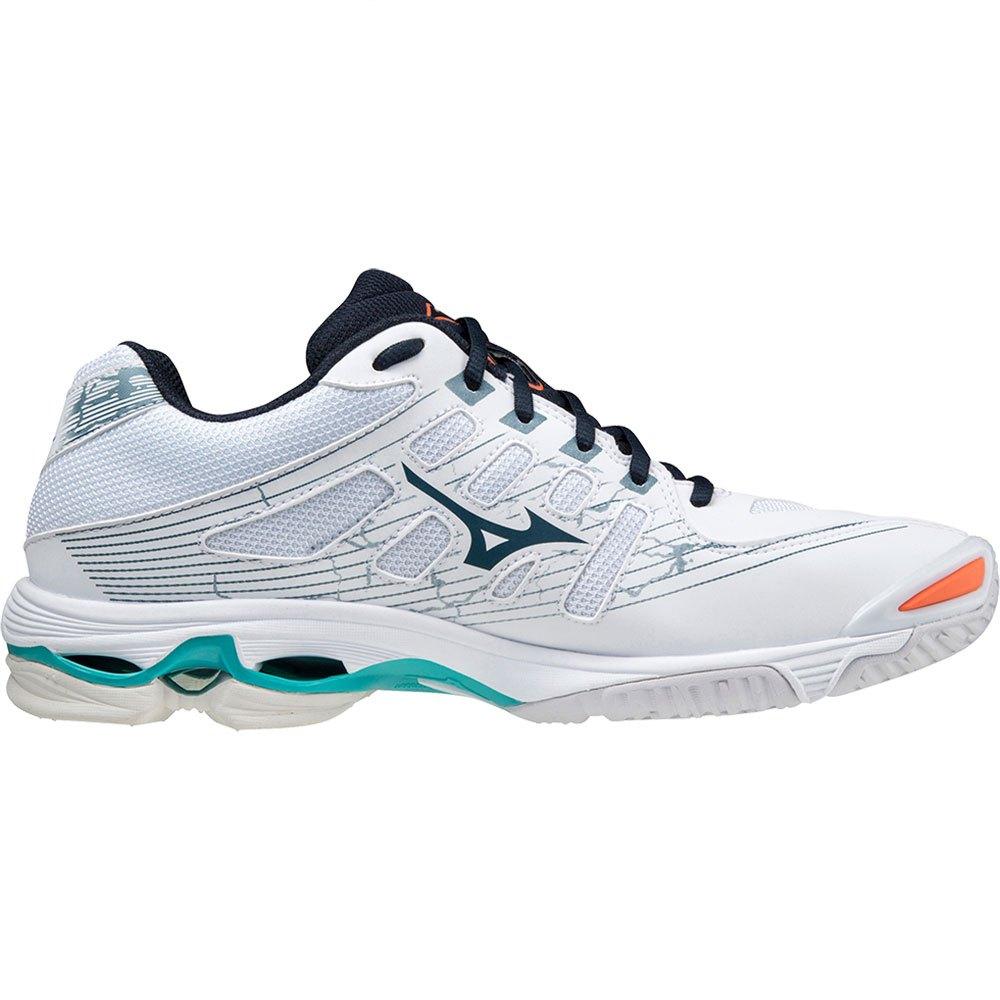 Mizuno Chaussures Wave Voltage EU 43 White / Legion Blue / Ceramic