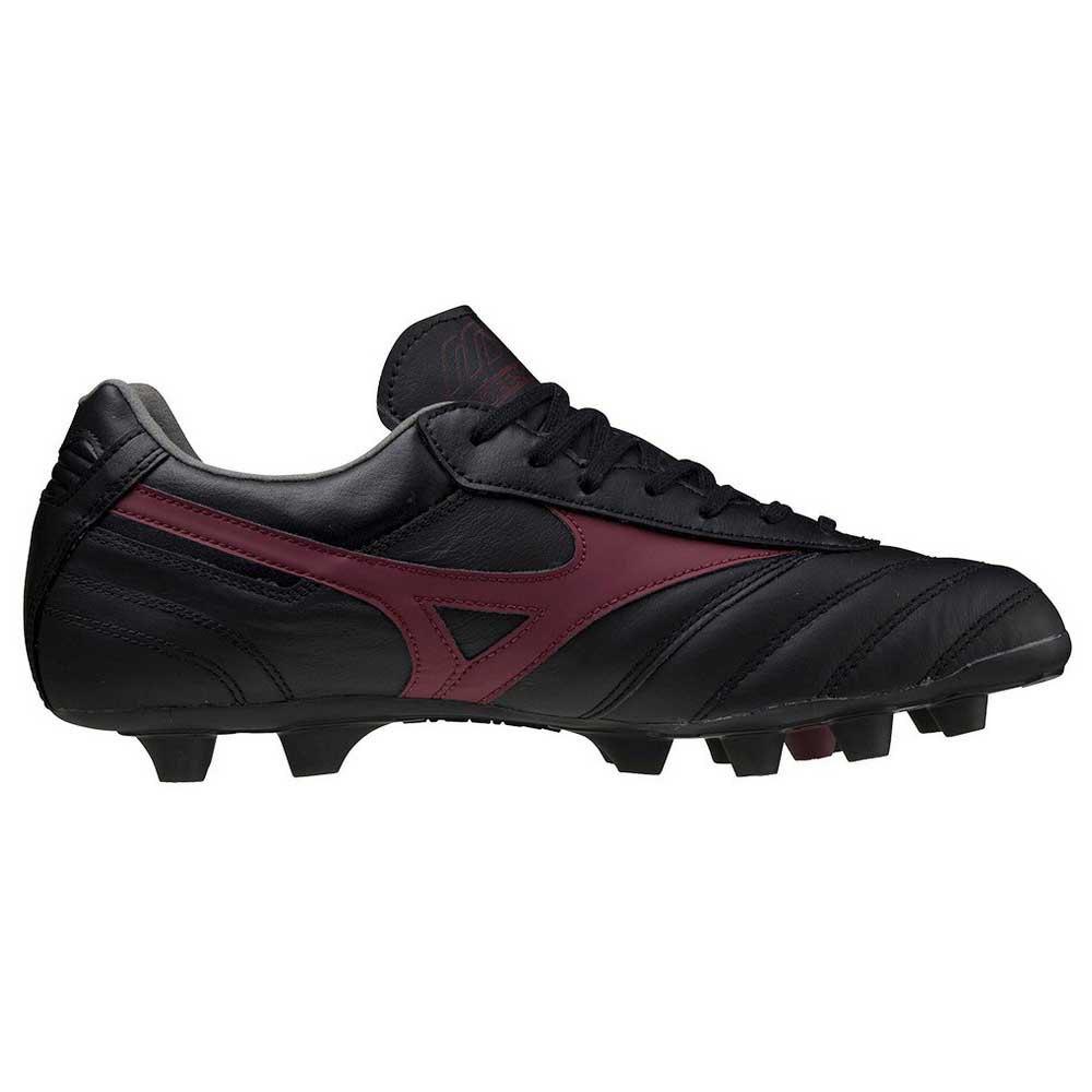 Mizuno Chaussures Football Morelia Ii Elite Md EU 41 Black / Tawny Port / Black