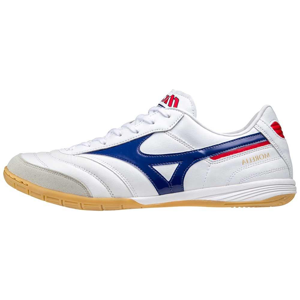 Mizuno Chaussures Football Salle Morelia Sala Elite In EU 40 White / 280C / High Risk Red