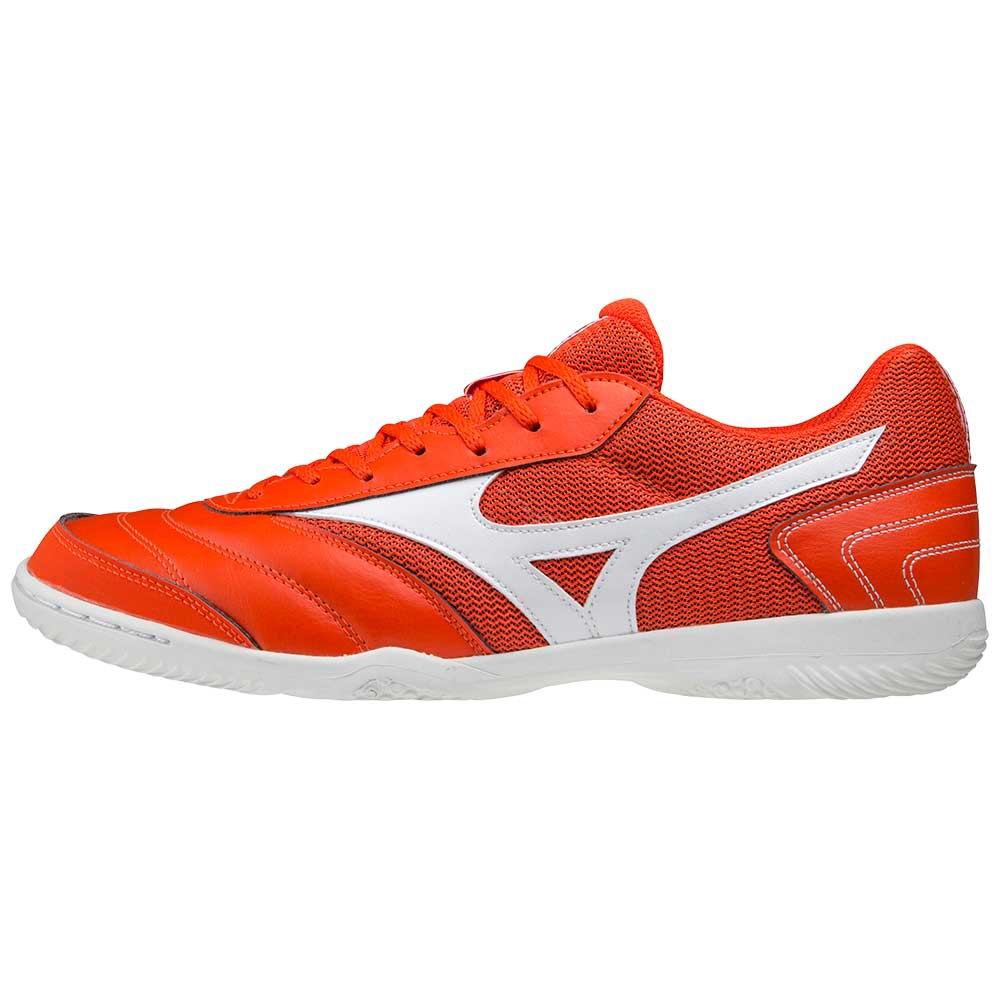 Mizuno Chaussures Football Salle Morelia Sala Club In EU 41 Cherry Tomato / White