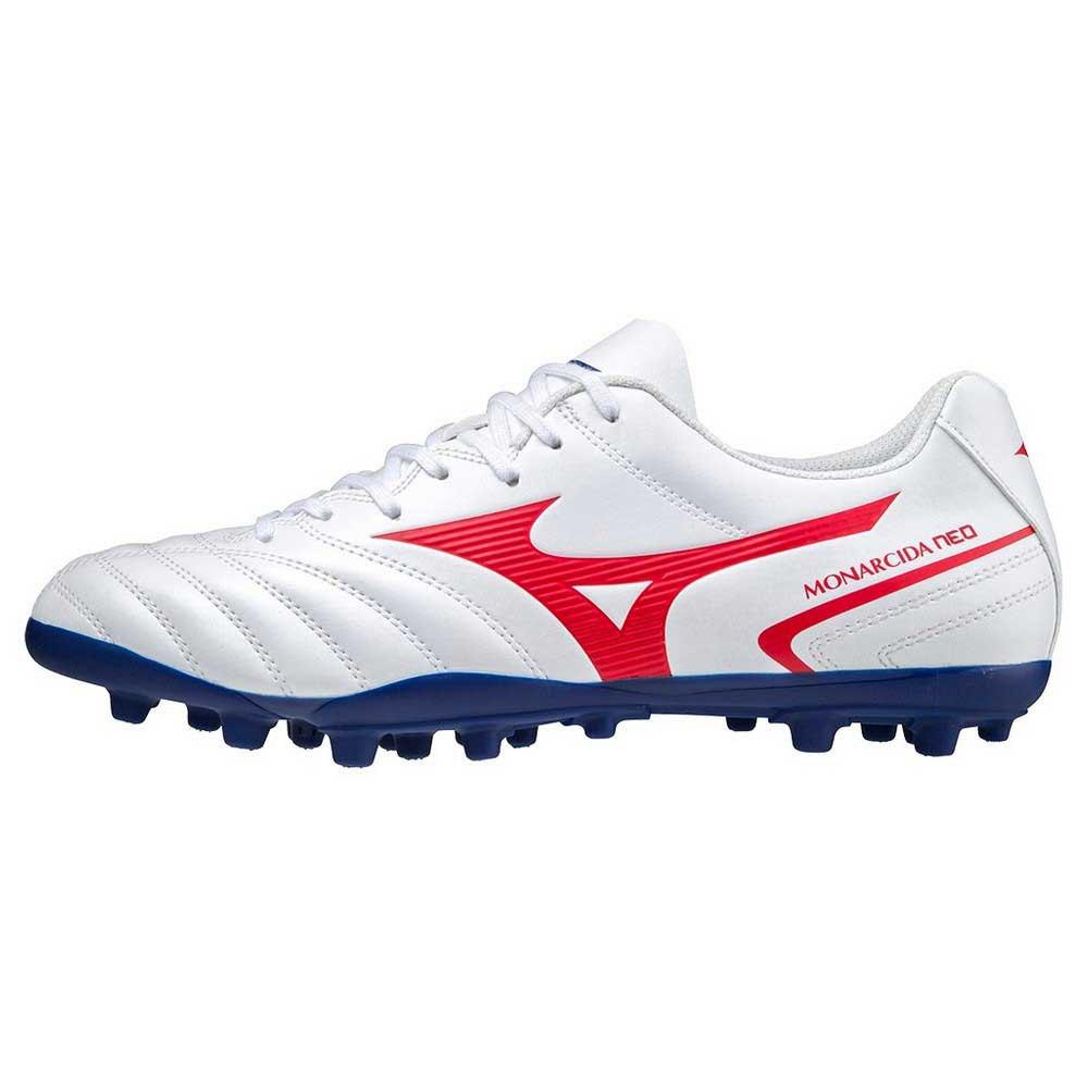 Mizuno Chaussures Football Monarcida Ii Select Ag EU 40 1/2 White / High Risk Red