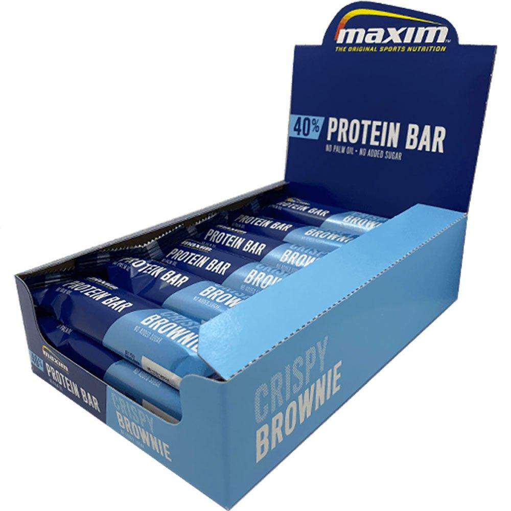 Maxim Bar Protéine 50g 18 Unités Brownie One Size
