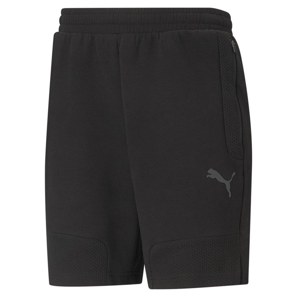 Puma Pantalons Courts Teamcup Casuals S Puma Black