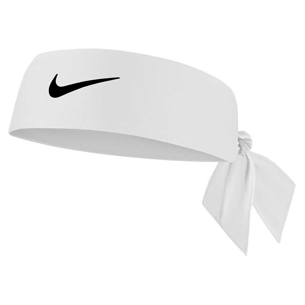 Nike Accessories Bandeau Dri Fit Tie 4.0 One Size White / Black