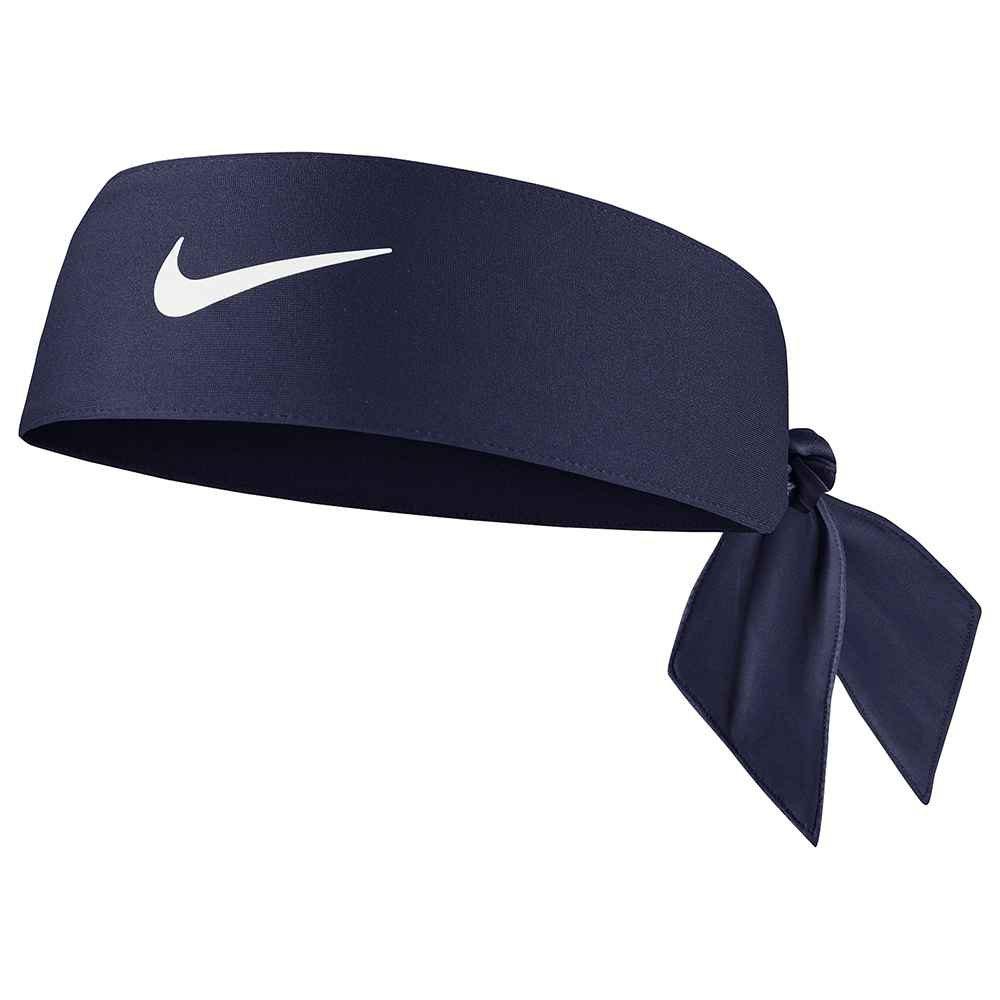 Nike Accessories Bandeau Dri Fit Tie 4.0 One Size Blue / White