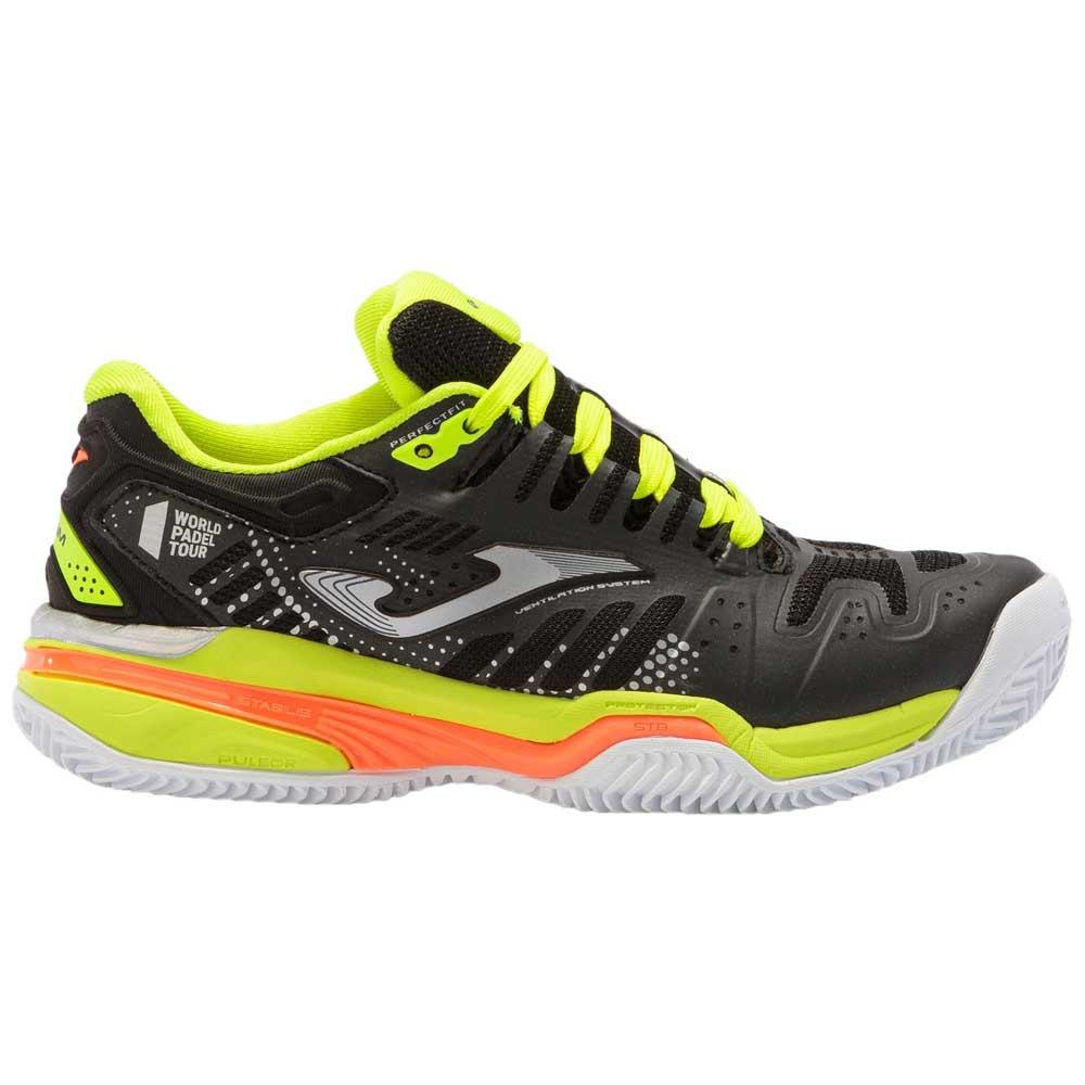 Joma Chaussures Slam EU 32 Black / Yellow Fluor