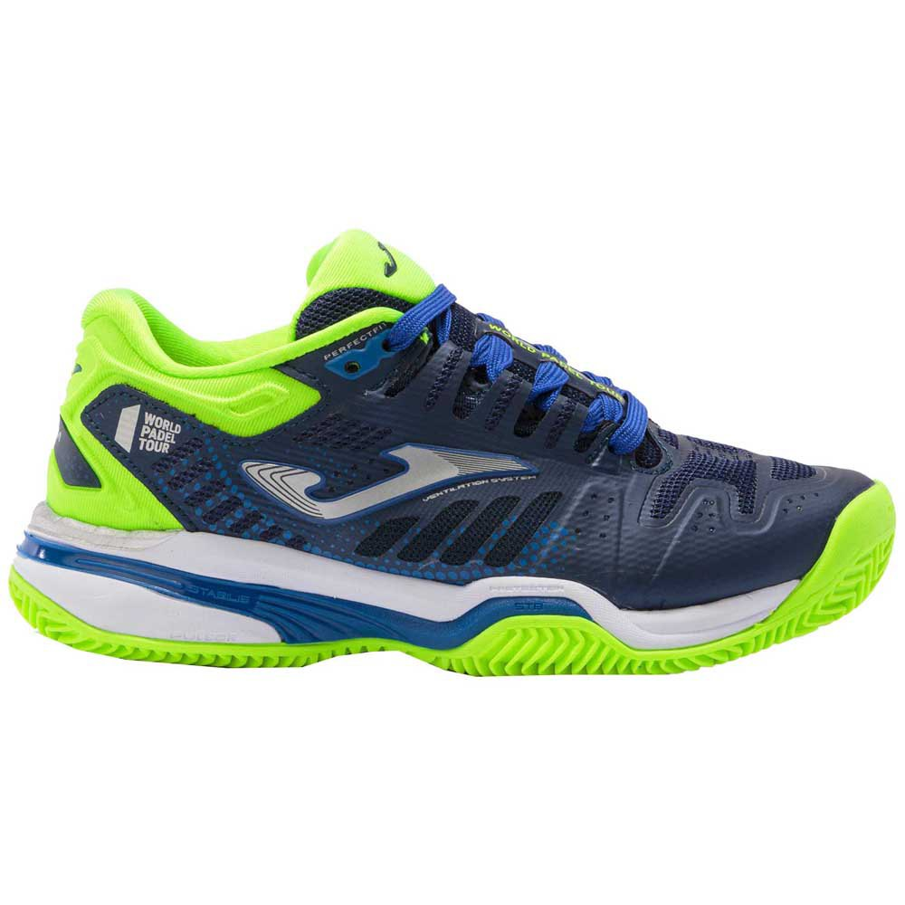 Joma Chaussures Slam EU 33 Navy / Green Fluor