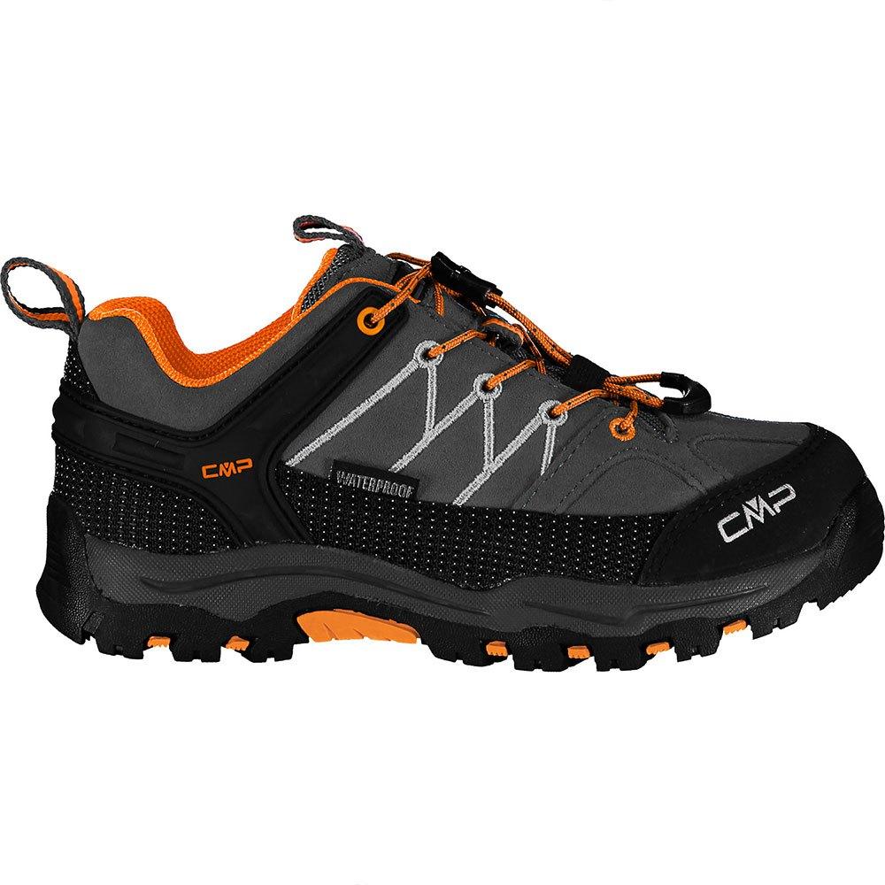 Cmp Chaussures Randonnée Rigel Low Trekking Wp EU 33 Anthracite / Flash Orange