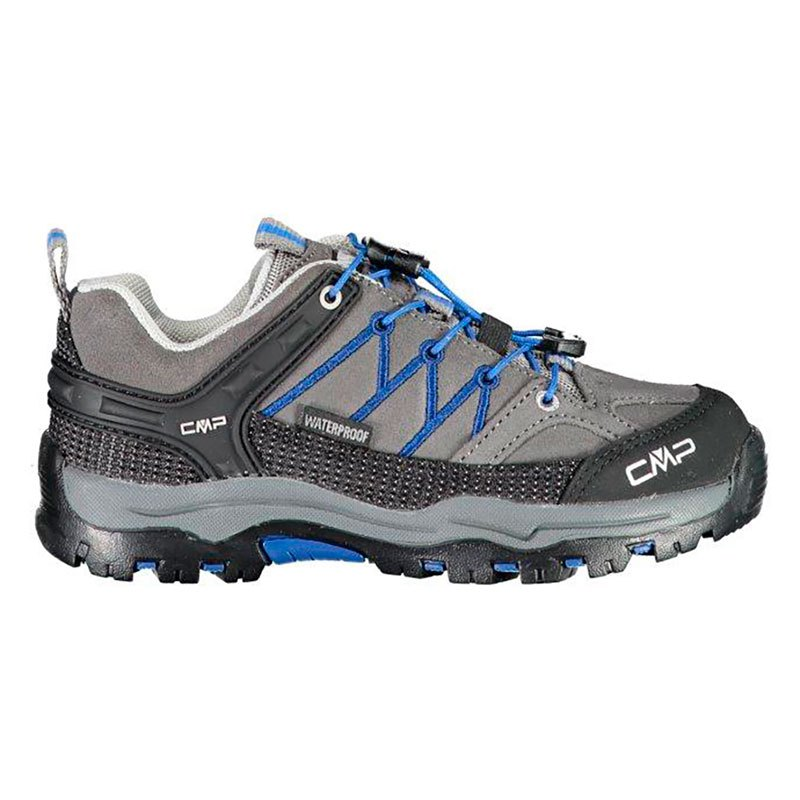 Cmp Chaussures Randonnée Rigel Low Trekking Wp EU 33 Grey / Royal
