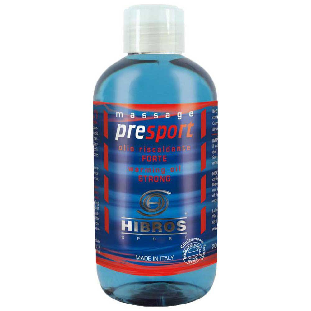 Hibros Huile Presport Fort 200 Ml One Size Blue