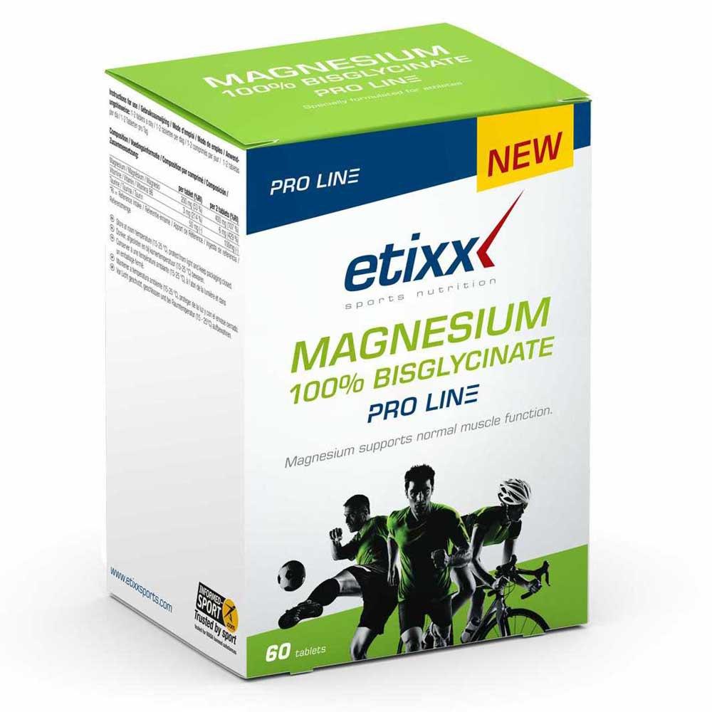 Etixx Magnesium 100% Bisglycinate Pro-line 60 Unités One Size