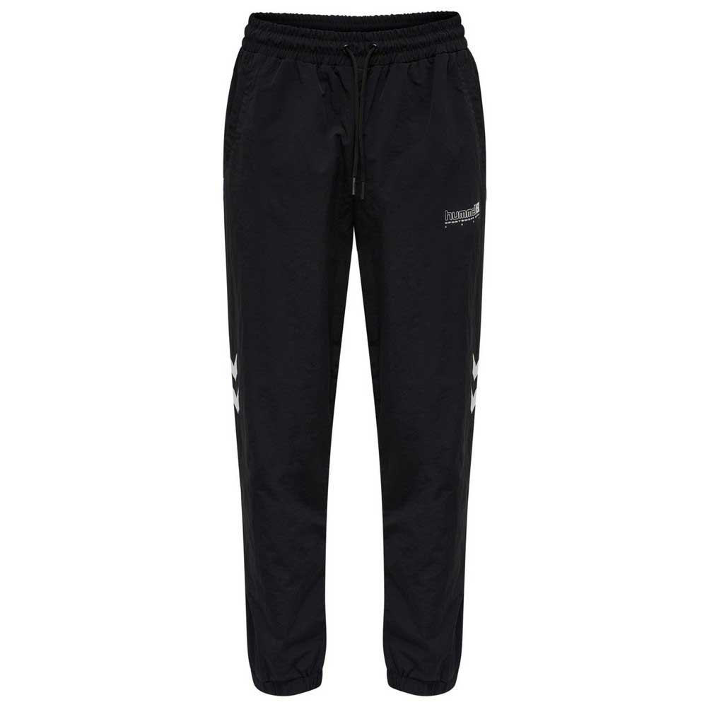 Hummel Pantalons Survêtement Legacy Musa Woven Regular S Black