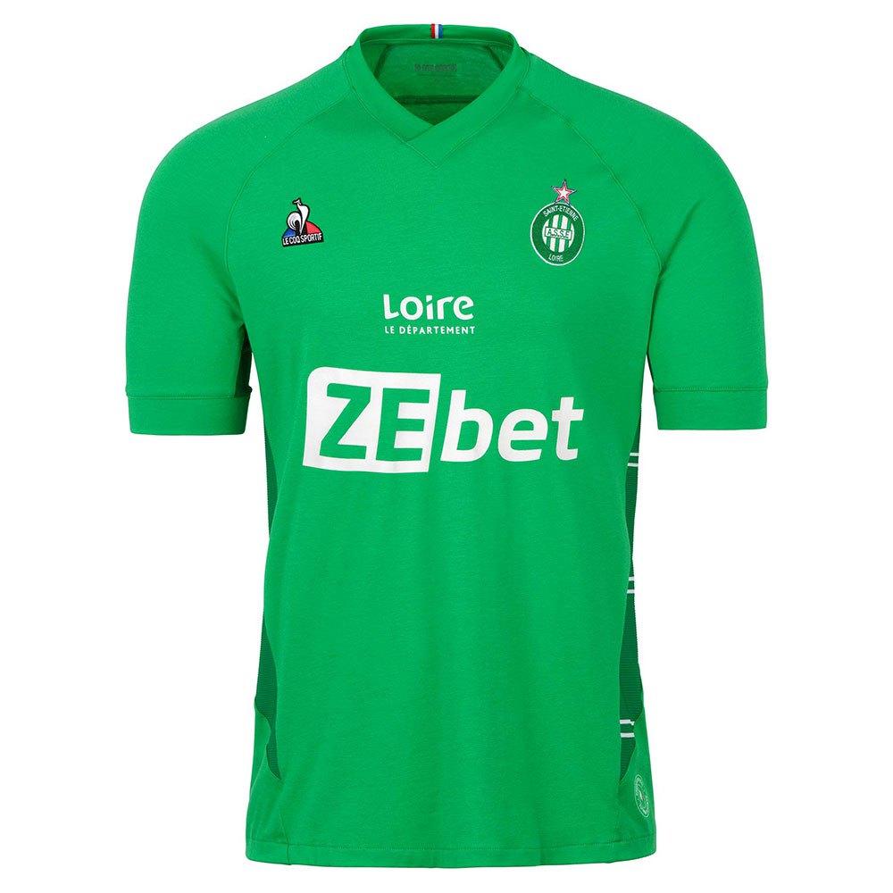 Le Coq Sportif T-shirt As Saint Etienne Réplique Domicile Sponsor L St Etienne