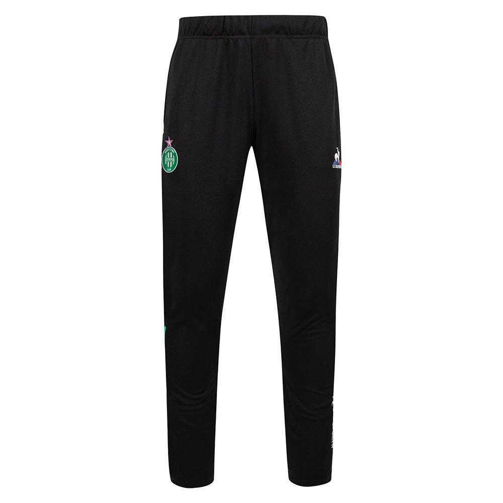 Le Coq Sportif Pantalons As Saint Etienne Training L Black