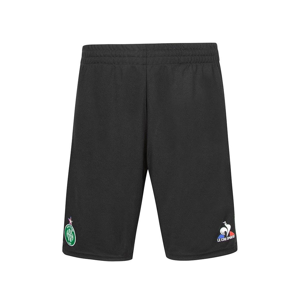 Le Coq Sportif Pantalons Courts As Saint Etienne Training L Black