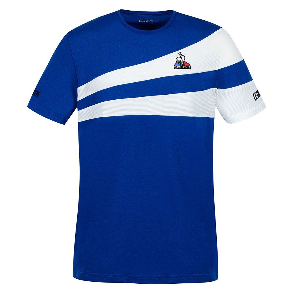 Le Coq Sportif T-shirt Manche Courte Tennis 21 Nº1 S Electro Blue