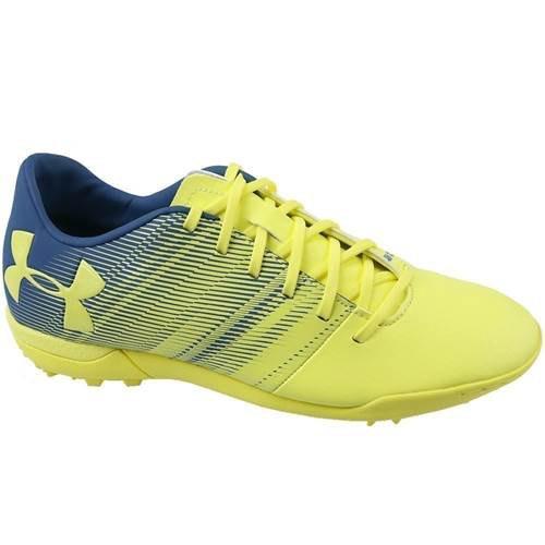 Under Armour Spotlight Tf Football Shoes EU 41 Blue,Yellow