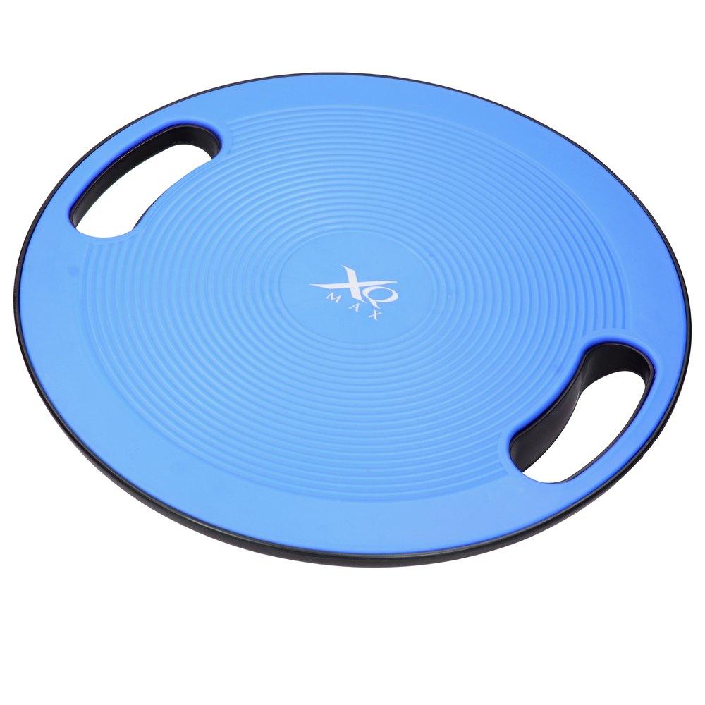 Ecd Germany Planche D´équilibre Yoga Thérapie Entraîner Force Fitness Kiné Exercice Ø 40 Cm ca. 9 x Ø 40 cm Blue