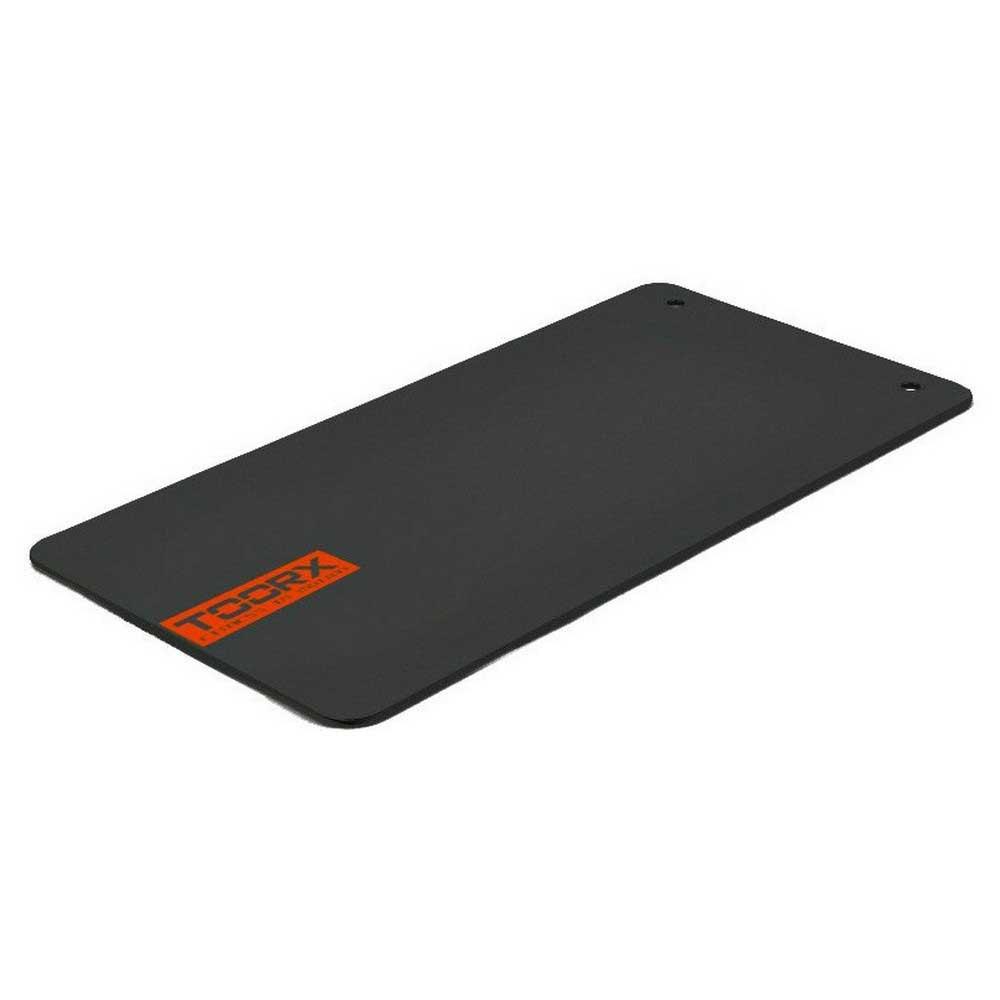 Toorx Tapis En Vinyle Pour Studio De Fitness Avec Cintres À Œillets Chromés 100 Studio One Size Dark Grey / Orange