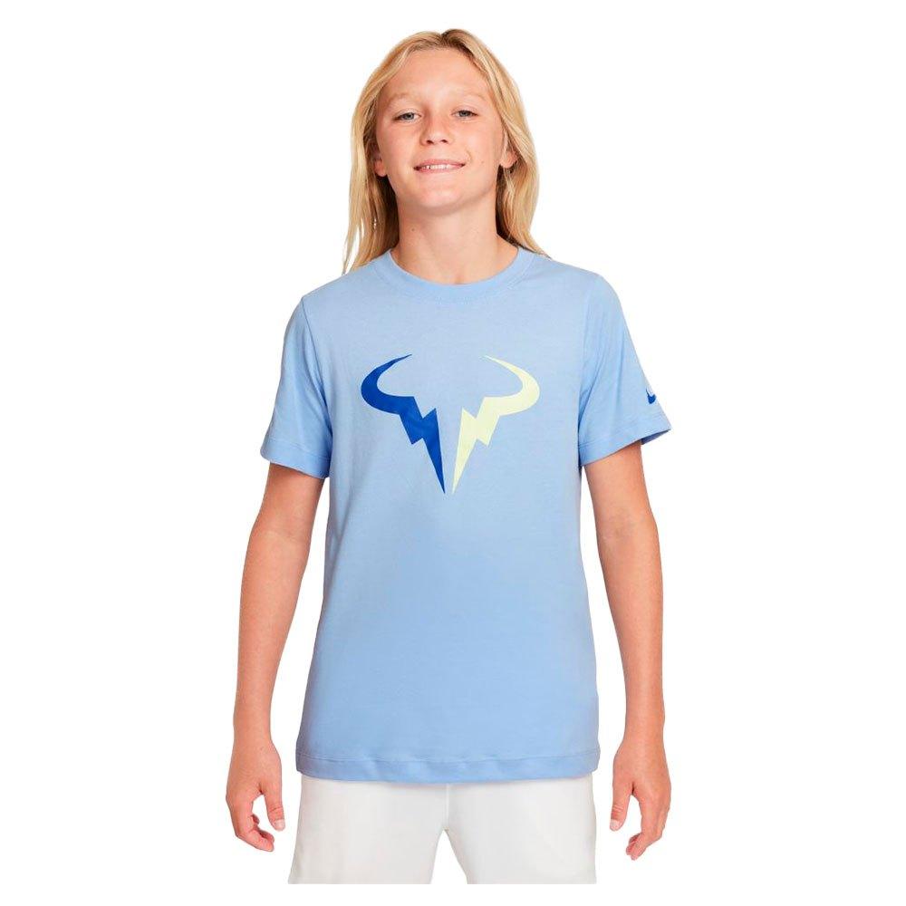 Nike T-shirt Manche Courte Court Dri Fit Rafa Seasonal S Aluminum