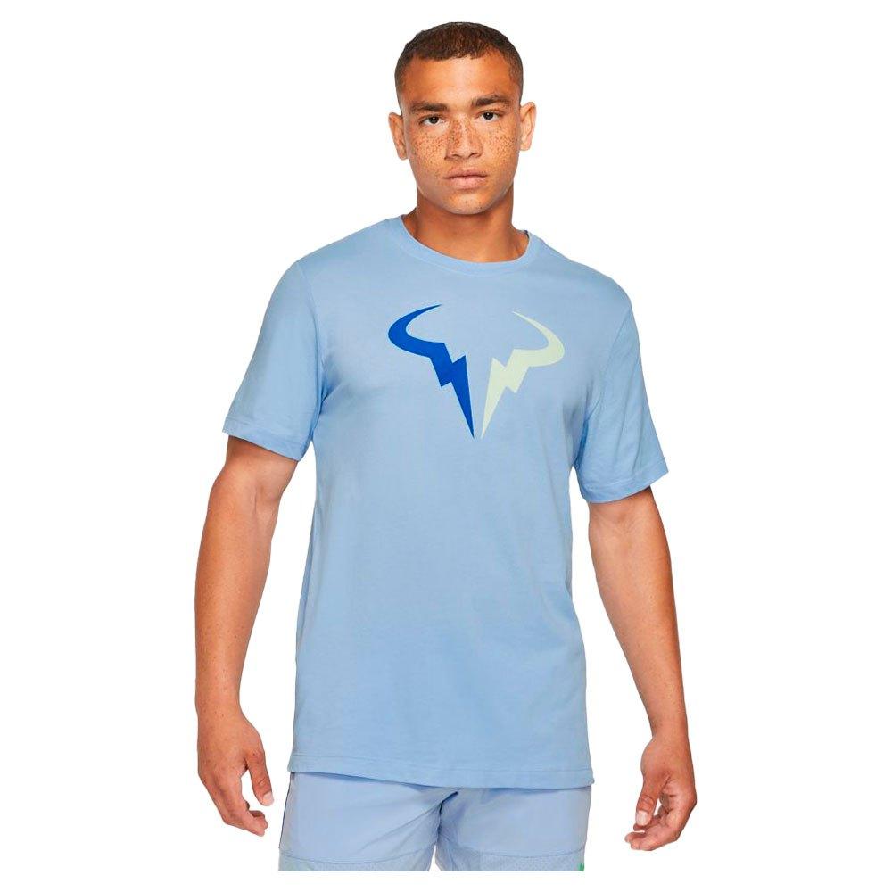 Nike T-shirt Manche Courte Court Dri Fit Rafa Seasonal XS Aluminum / Lime Ice / Hyper Royal