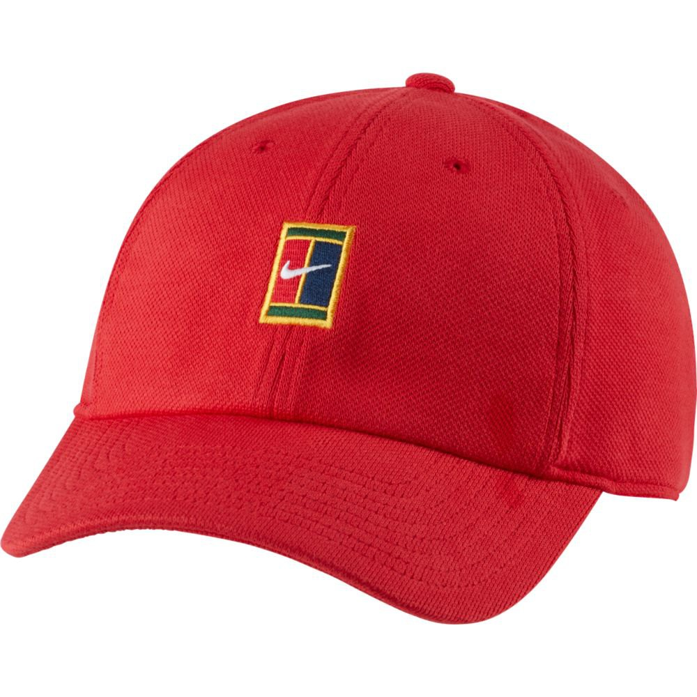 Nike Casquette Court Heritage 86 Logo One Size University Red