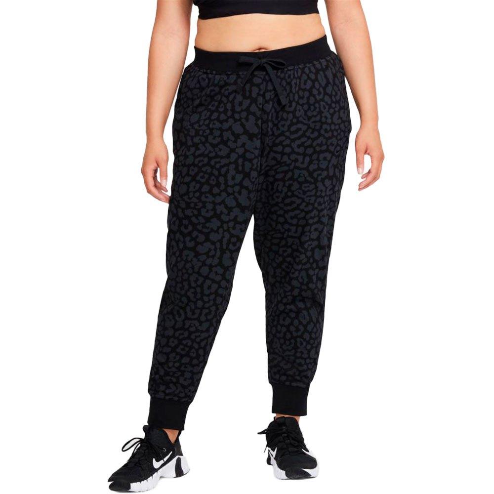 Nike Pantalons Dri Fit Get Fit Printed S Black / White