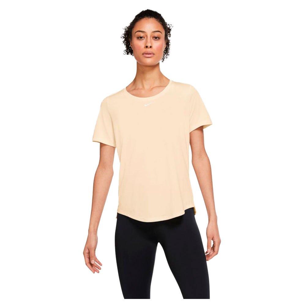 Nike T-shirt Manche Courte Dri Fit One XS Guava Ice / White
