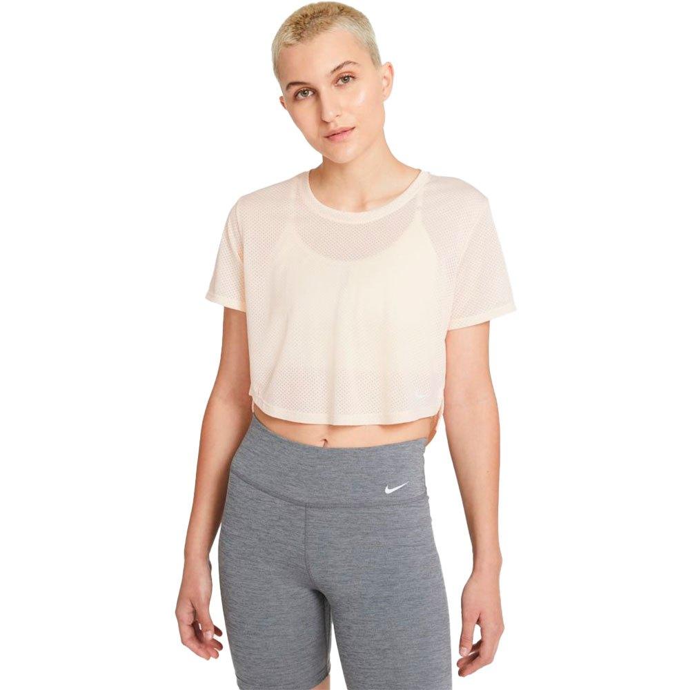 Nike T-shirt Manche Courte Dri Fit One L Guava Ice / White