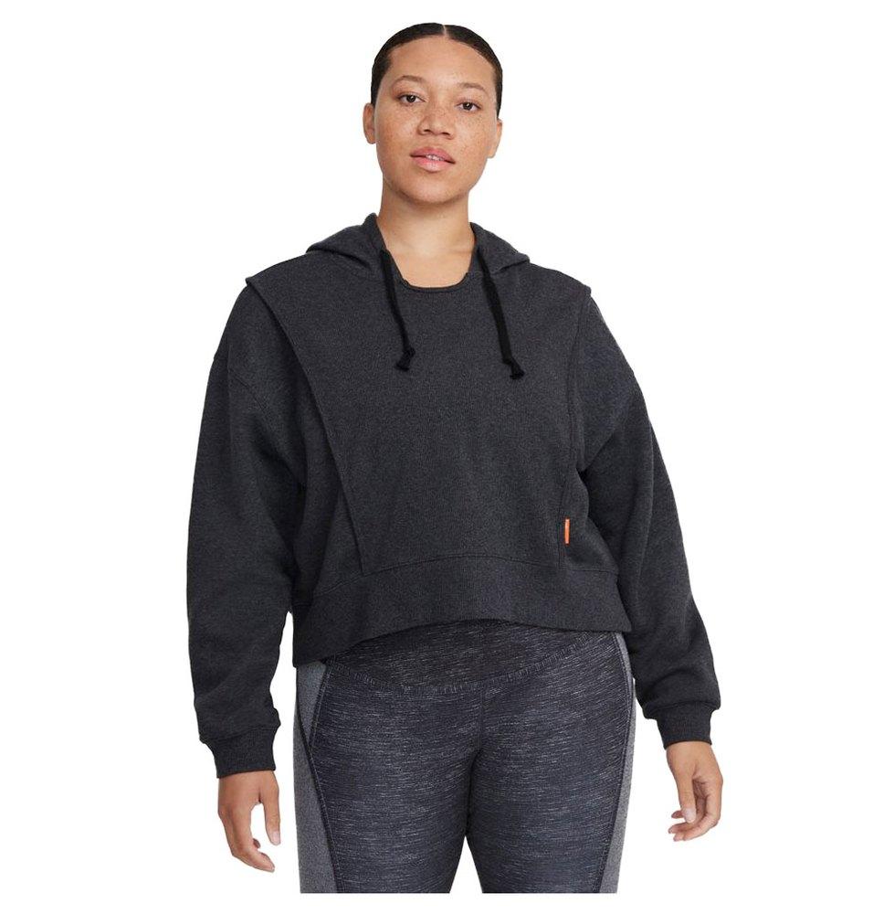 Nike Sweatshirt Dri Fit XS Black Heather