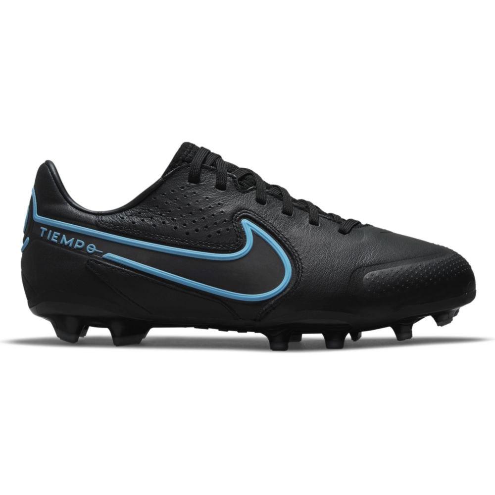 Nike Chaussures Football Tiempo Legend 9 Pro Fg EU 36 1/2 Black / Black-Iron Grey