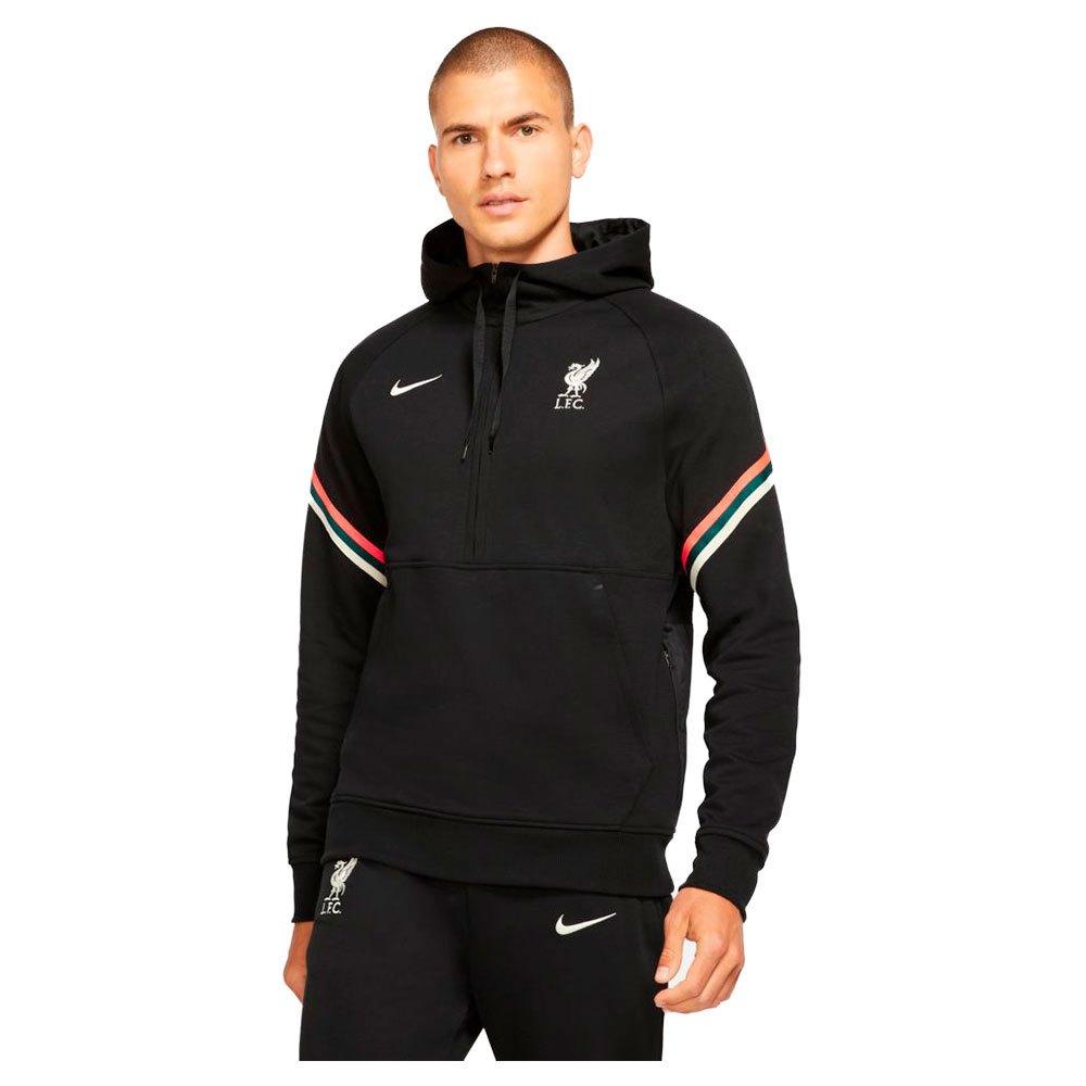 Nike Sweatshirt Liverpool Fc 21/22 M Black / Fossil