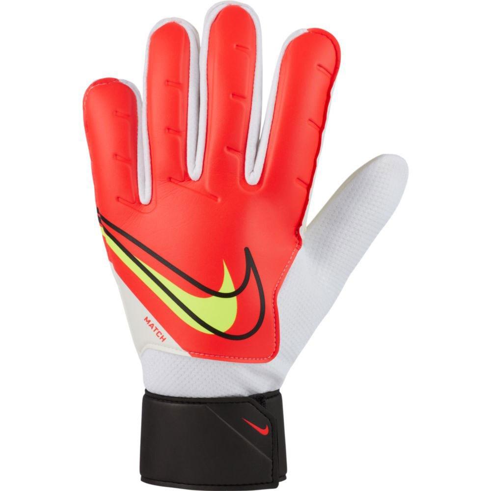 Nike Gants Match 8 Bright Crimson / Black / Volt