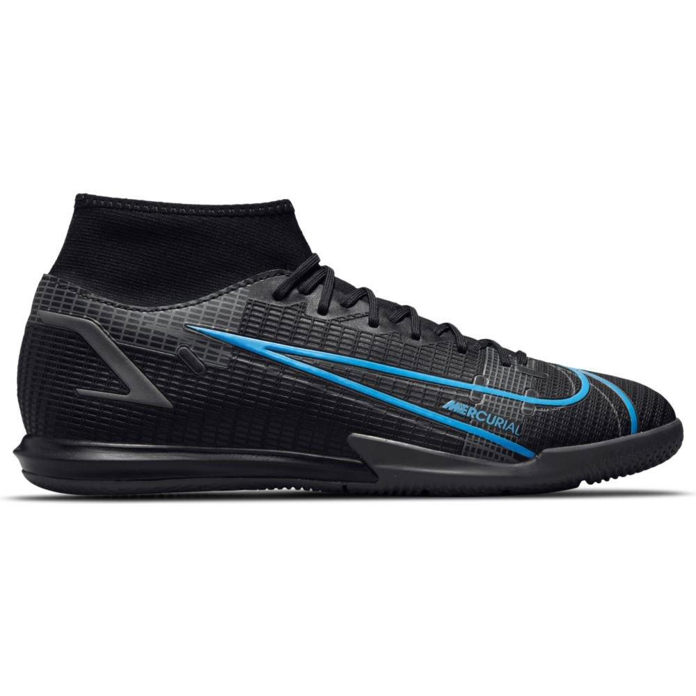 Nike Chaussures Football Mercurial Superfly Viii Academy Ic EU 40 Black / Black-Iron Grey